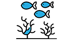 A fish icon